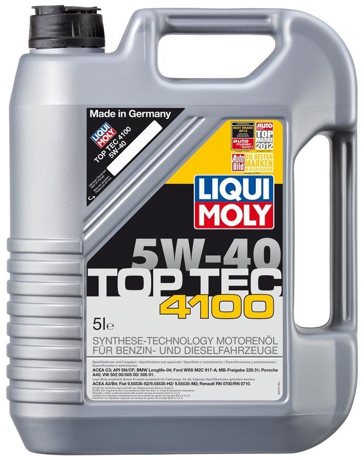 Motoröl 9511 LIQUI MOLY ACEAB4 in Original Qualität