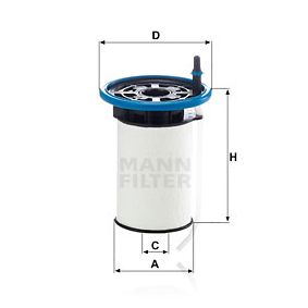Article № PU 7005 MANN-FILTER prices