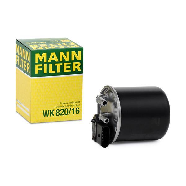 Fuel Filter MANN-FILTER WK 820/16 4011558061586