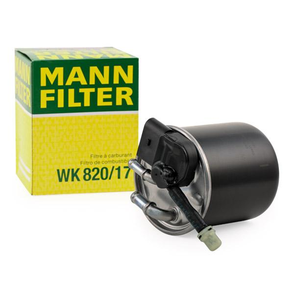 Inline fuel filter MANN-FILTER WK820/17 expert knowledge