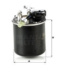 Article № WK 820/17 MANN-FILTER prices