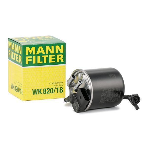 Inline fuel filter MANN-FILTER WK820/18 expert knowledge