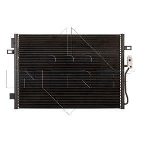 Kondensator, Klimaanlage Kältemittel: R 134a mit OEM-Nummer 68038 244AA