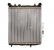 Radiador de motor SEAT Ibiza 4 ST (6J8, 6P8) 2016 Año 7890023 NRF Aletas refrigeración unidas mecánicamente, Aluminio, sin bastidor de ventilador radiador (armazón)