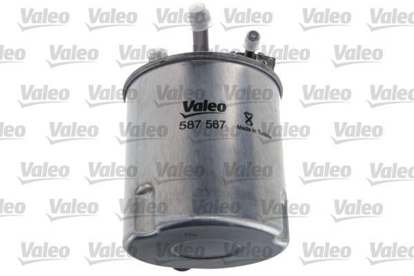 Inline fuel filter VALEO 587567 3276425875678