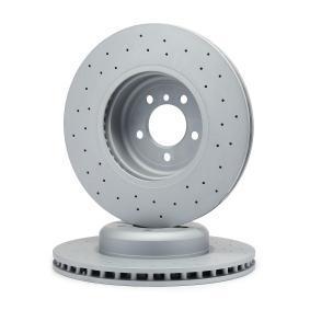 Brake Disc Brake Disc Thickness: 30mm, Rim: 5-Hole, Ø: 370mm with OEM Number 34106797606