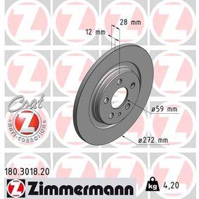 Bremsscheibe Ø: 272mm mit OEM-Nummer 4246-P4