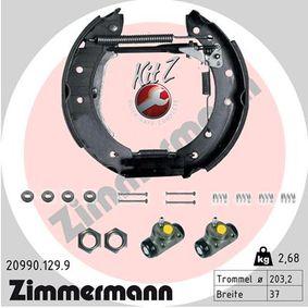 Bremsensatz, Trommelbremse mit OEM-Nummer 7701 208 114