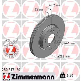 Honda Civic 8 1.8 (FN1, FK2) Wasserpumpe + Zahnriemensatz ZIMMERMANN COAT Z 280.3171.20 (1.8 (FN1, FK2) Benzin 2020 R18A2)