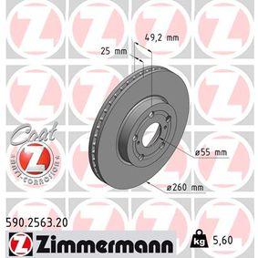 Bremsscheibe Art. Nr. 590.2563.20 120,00€
