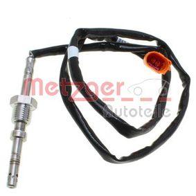 Sensor, Abgastemperatur Kabellänge: 760mm, 2-polig mit OEM-Nummer 03L906088CC