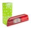 Rear lights VALEO 45265 Right, with lamp base
