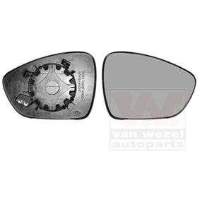 VAN WEZEL  4068838 Spiegelglas, Außenspiegel