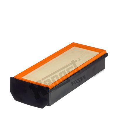 HENGST FILTER  E1071L Luftfilter Länge: 367mm, Breite: 148mm, Höhe: 79mm, Länge: 367mm