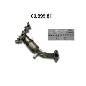Catalytic Converter 03.999.61 PUNTO (188) 1.2 16V 80 MY 2000