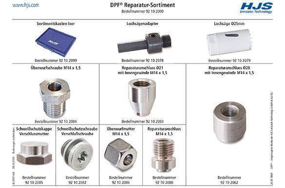 Einschweißgewinde, Abgastemperatursensor HJS 92 10 2000 Bewertung