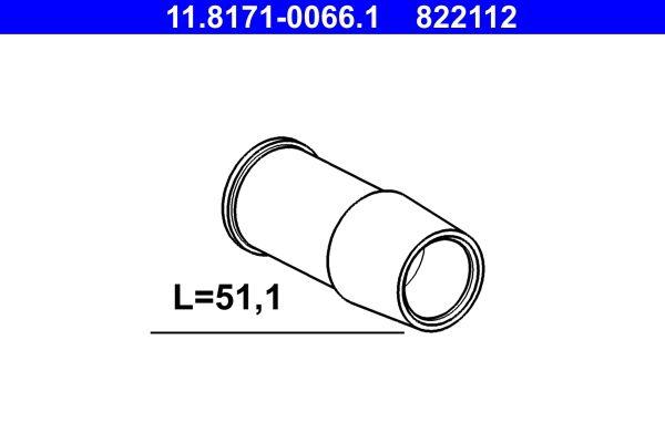 ATE  11.8171-0066.1 Führungshülse, Bremssattel