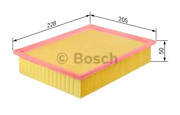 Luftfilter BOSCH F 026 400 374 Bewertung