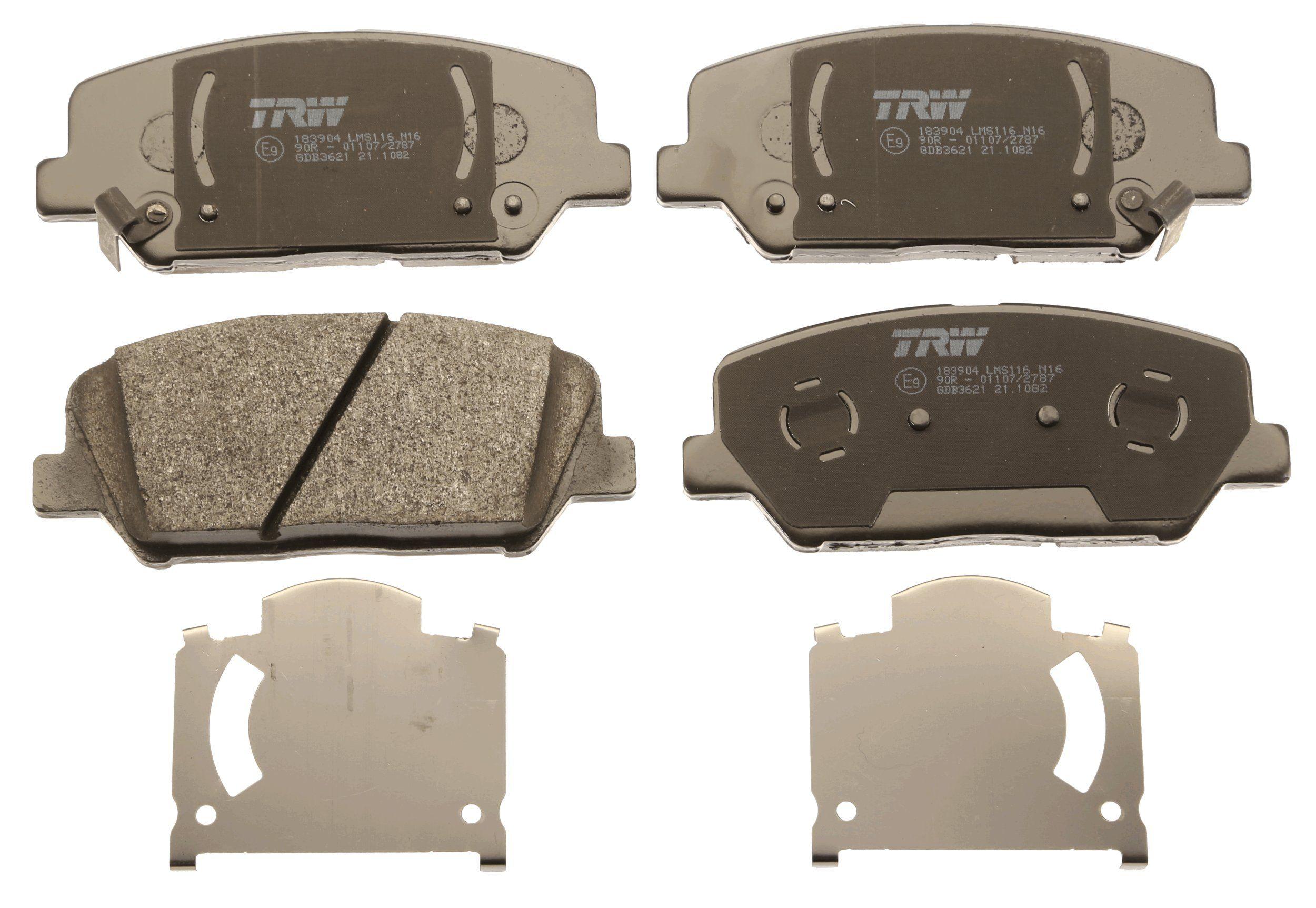 Bremsbelagsatz TRW GDB3621 Bewertung