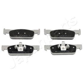 Bremsbelagsatz, Scheibenbremse Höhe: 40mm, Dicke/Stärke: 18mm mit OEM-Nummer 410605536R