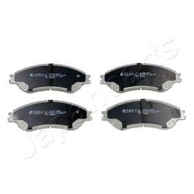 Bremsbelagsatz, Scheibenbremse Höhe: 55mm, Dicke/Stärke: 16mm mit OEM-Nummer 55810-61M50