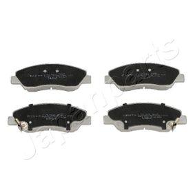 Bremsbelagsatz, Scheibenbremse Höhe: 50mm, Dicke/Stärke: 17mm mit OEM-Nummer 58101-B4A00