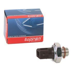 Sistema Eléctrico del Motor BMW X5 (E70) 3.0 d de Año 02.2007 235 CV: Interruptor de control de la presión de aceite (206 960) para de TOPRAN