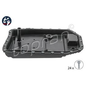 Oil Pan, automatic transmission with OEM Number 24 11 7 571 217