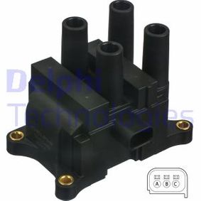 Ignition Coil GN10449-12B1 FIESTA 6 1.25 MY 2015