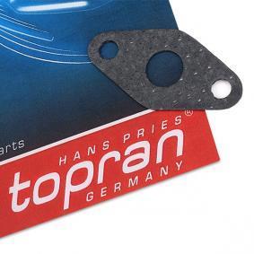 Turboladerdichtung für VW TOURAN (1T1, 1T2) 1.9 TDI 105 PS ab Baujahr 08.2003 TOPRAN Dichtung, Lader (115 087) für