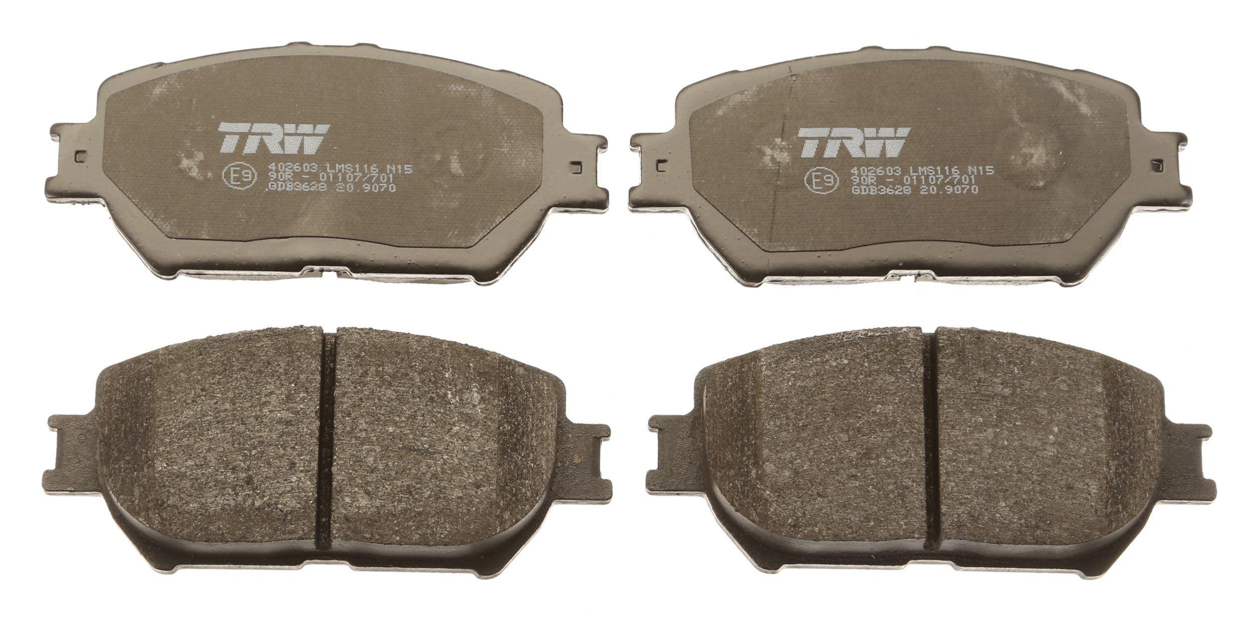 Bremsbelagsatz TRW GDB3628 Bewertung