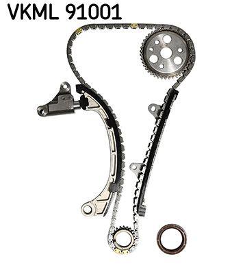SKF  VKML 91001 Juego de cadena de distribución Dimens cadena distrib.: 6,35