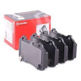 Bremsbelagsatz, Scheibenbremse Breite: 107,2mm, Höhe: 69,2mm, Dicke/Stärke: 14,7mm mit OEM-Nummer 68144432AA