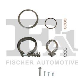 Turbocompresor y Piezas BMW X5 (E70) 3.0 d de Año 02.2007 235 CV: Juego de montaje, turbocompresor (KT100110) para de FA1