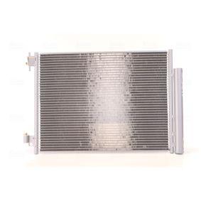 Kondensator, Klimaanlage Netzmaße: 541 x 378 x 12 mm mit OEM-Nummer 453 5000 054