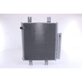 NISSENS  940612 Kondensator, Klimaanlage Netzmaße: 346 x 365 x 16 mm