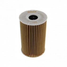 Ölfilter Ø: 57,1mm, Innendurchmesser 2: 23,0mm, Höhe: 105,5mm, Höhe 1: 95,0mm mit OEM-Nummer 55588497