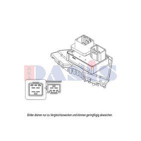 Regler, Innenraumgebläse Spannung: 12V, für Fahrzeuge mit/ohne Klimaanlage, Pol-Anzahl: 6-polig mit OEM-Nummer 8693262