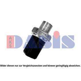 Drucksensor Klimaanlage VW PASSAT Variant (3B6) 1.9 TDI 130 PS ab 11.2000 AKS DASIS Druckschalter, Klimaanlage (860199N) für