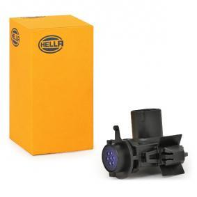 HELLA Sensor, Luftgüte 6PX 012 684-001 für AUDI A6 (4B2, C5) 2.4 ab Baujahr 07.1998, 136 PS