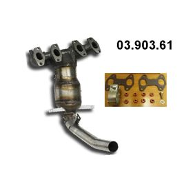 Catalytic Converter 03.903.61 PANDA (169) 1.2 MY 2010