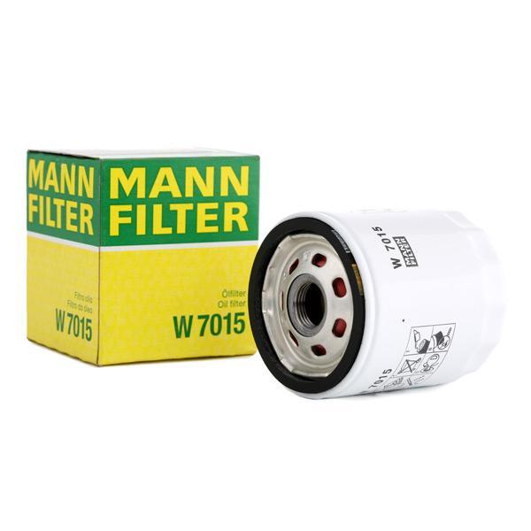 Oil Filter MANN-FILTER W7015 expert knowledge