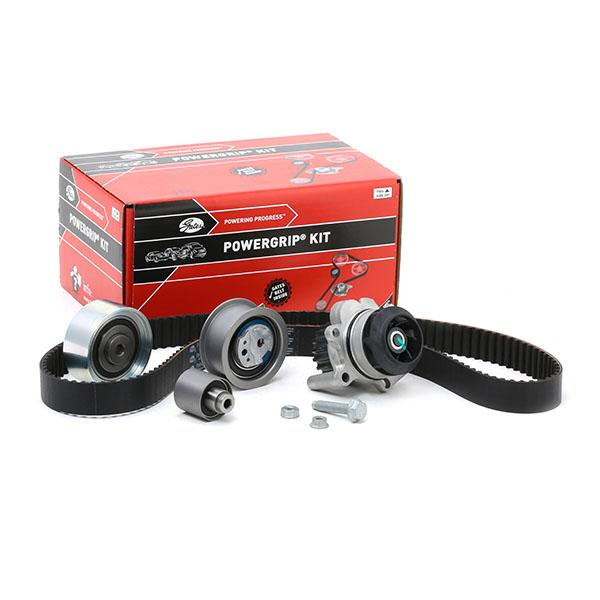 Timing belt kit and water pump KP15607XS-1 GATES K015607XS original quality
