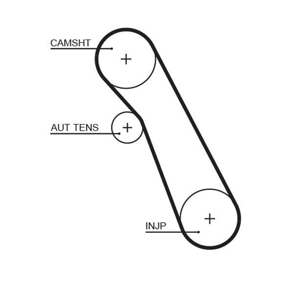 Water Pump + Timing Belt Kit GATES WP0113 rating