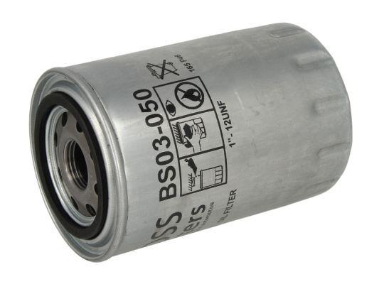 BOSS FILTERS  BS03-050 Oil Filter Ø: 96mm, Ø: 96mm, Height: 142mm