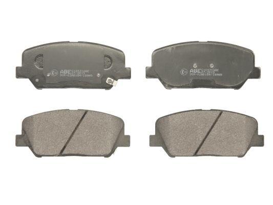 ABE  C10531ABE Bremsbelagsatz, Scheibenbremse Höhe: 60mm, Dicke/Stärke: 17,8mm