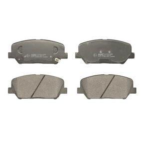Bremsbelagsatz, Scheibenbremse Höhe: 60mm, Dicke/Stärke: 17,8mm mit OEM-Nummer 581012VA70