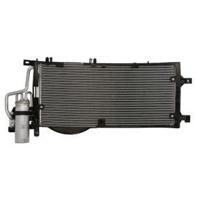 Kondensator, Klimaanlage Kältemittel: R 134a mit OEM-Nummer 1850071