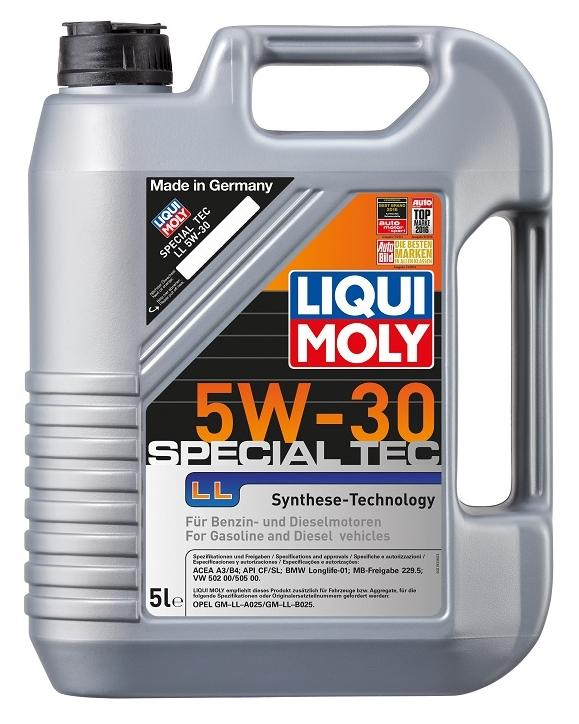 Motoröl 2448 LIQUI MOLY SpecialTecLL5W30 in Original Qualität