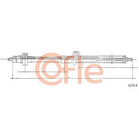 COFLE  1173.4 Gaszug